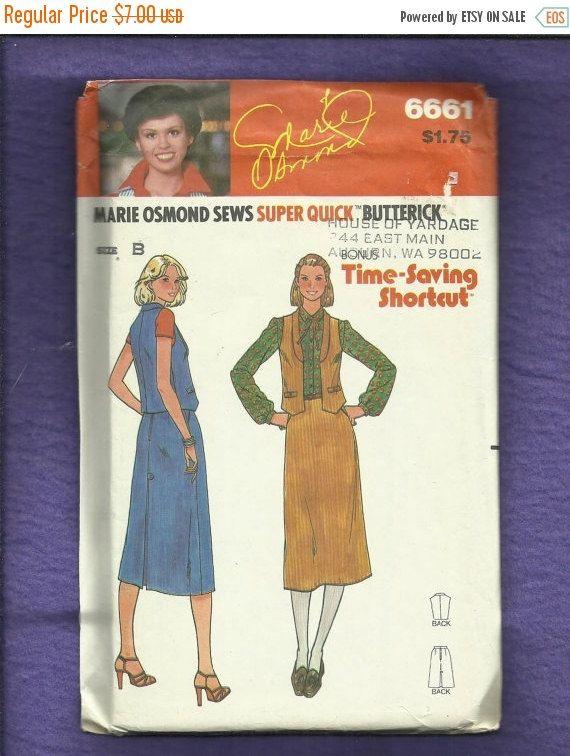 Schwarzer Freitag Verkauf 1970 Butterick 6661 von MrsWooster