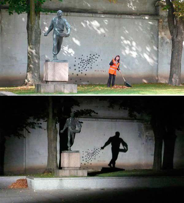 The Seeder - Street Art in Kaunas, Lithuania.: Art Photography, Art Streetart, Attraction Photography, Art Works Photography, Artists Corner Photography, Art Photos, Amazing Photos, Amazing Photoraphi, 2008 Photographers