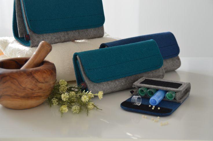 Neu! Unsere Taschenapotheken sind in neuen trendigen Farben erhältlich.