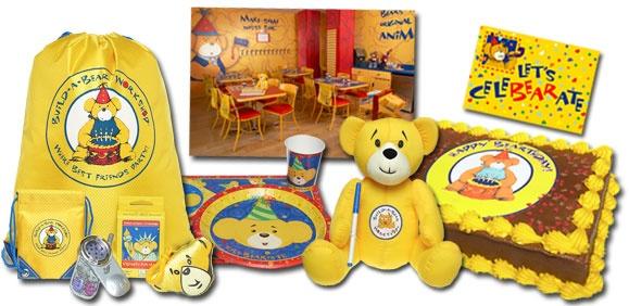 Build A Bear Build A Bear Birthday Party