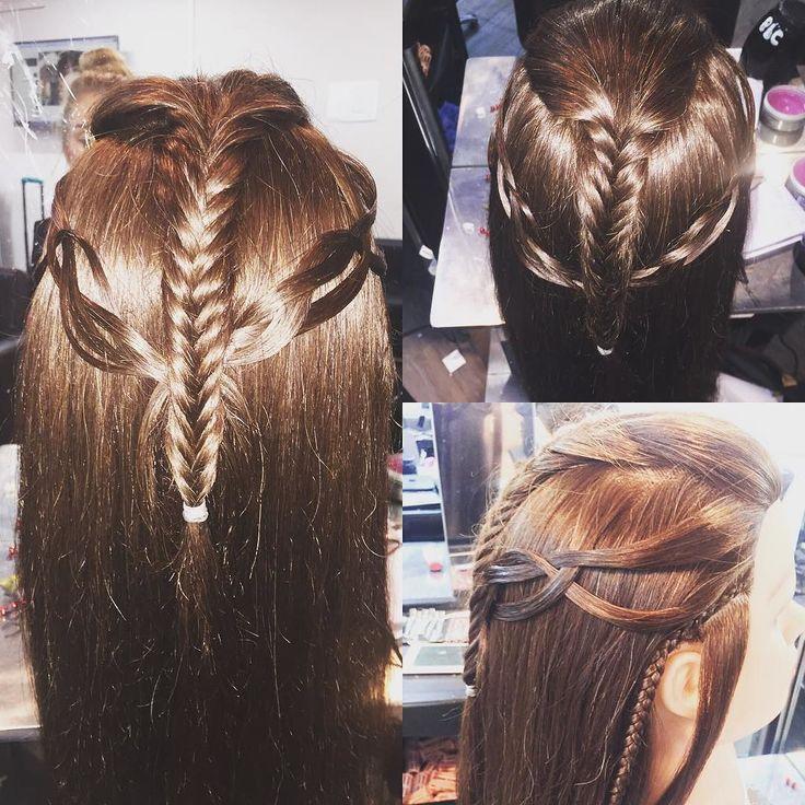 emma stone hairstyle : elf #elven #elvish #lotr #hair #hairup #hairstyle #longhair #fishtail ...