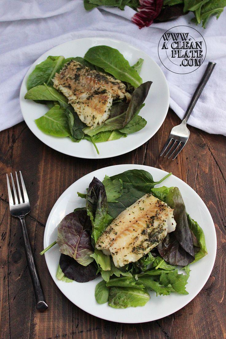Spicy Roasted Whitefish Recipe
