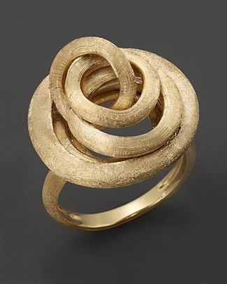 18K Marco Bicego Jaipur Link Ring. Visit London Jewelers or call 516-627-7475 to speak to a sales representative.