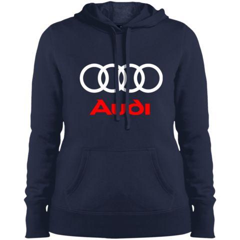 Audi Ladies' Pullover Hooded Sweatshirt