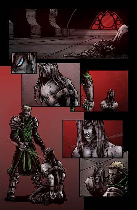 Bloodlust 2. szám, 6. képregényoldal