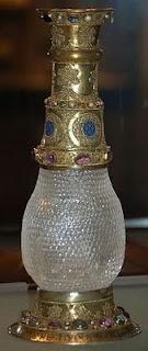 Eleanor Vase - at the Louvre. Her gift to Louis VII on the occasion of their marriage and her only known surviving artifact.