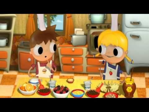 Telmo et Tula - Muesli, recettes pour le petit déjeuner - dessins animes