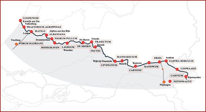 Limeswiki: informatie over de Romeinen in Nederland