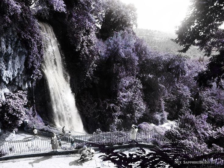 Fantasy Waterfall. Edessa Waterfalls, Greece. Nex SapphireBrast | Photography ©