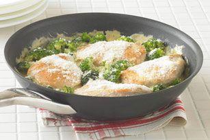 Cheesy Chicken n Broccoli Simmer