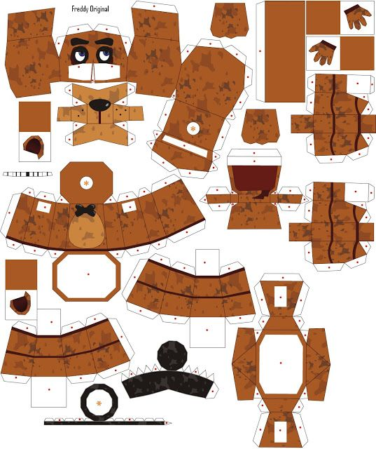 Five Nights At Freddy S Craft Ideas