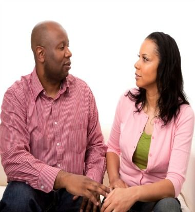 If you really want to see what kind of partner a man can be, see how he reacts when things get tough. Immature men will run in these instances.