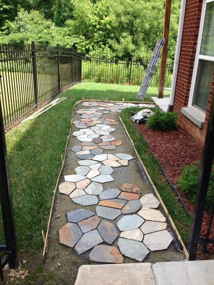 48 best walkways images on pinterest backyard ideas
