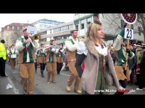 Streetcarneval in Bad Kreuznach, Germany
