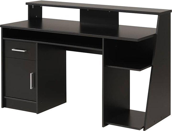 Modern Black Computer Desk For Your Home Office Black Wood Computer Desk Black Computer Desk Uk Fu Black Desk Home Office Computer Desk Black Computer Desk