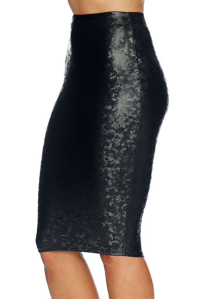 Soldier Jane Midi Pencil Skirt - (S) & (M) nwt