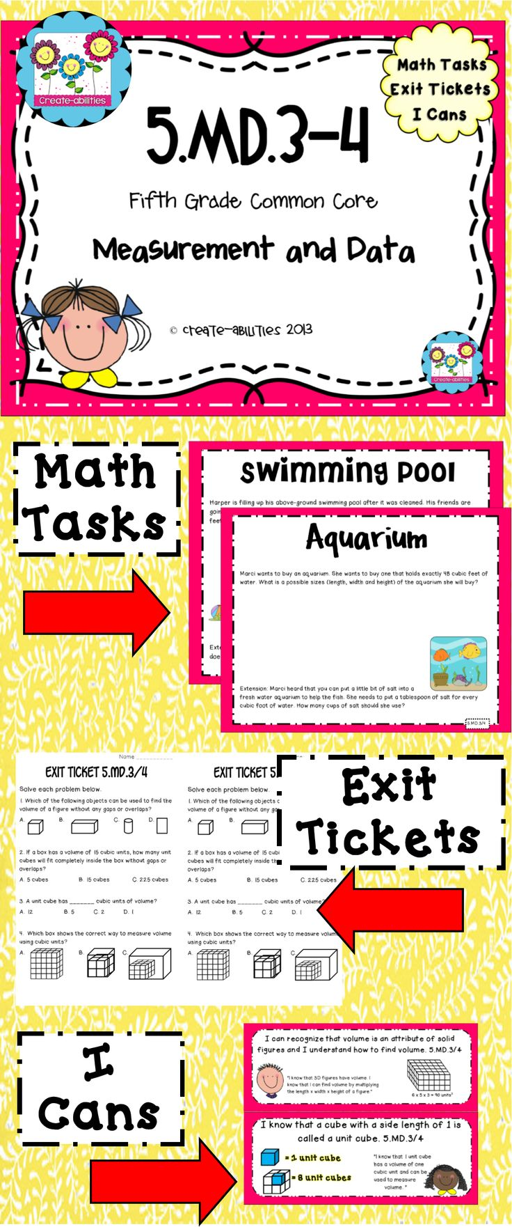Worksheet 5th Grade Math Conversions 1000 images about measurement on pinterest math tasks exit tickets