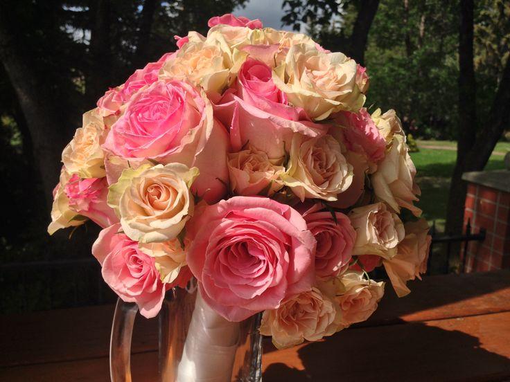 Custom designed floral arrangements by Exquisite Details