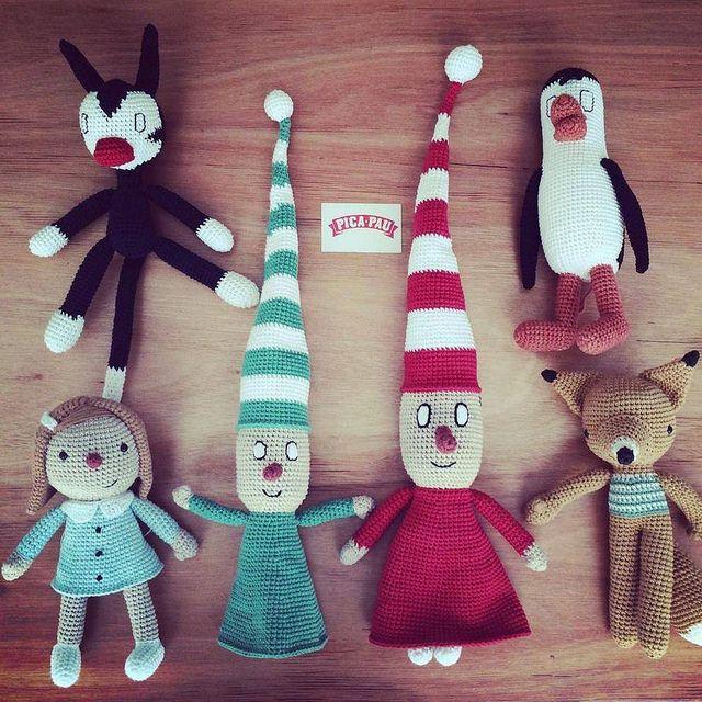 Prototipos muñecos Liniers  para Monoblock
