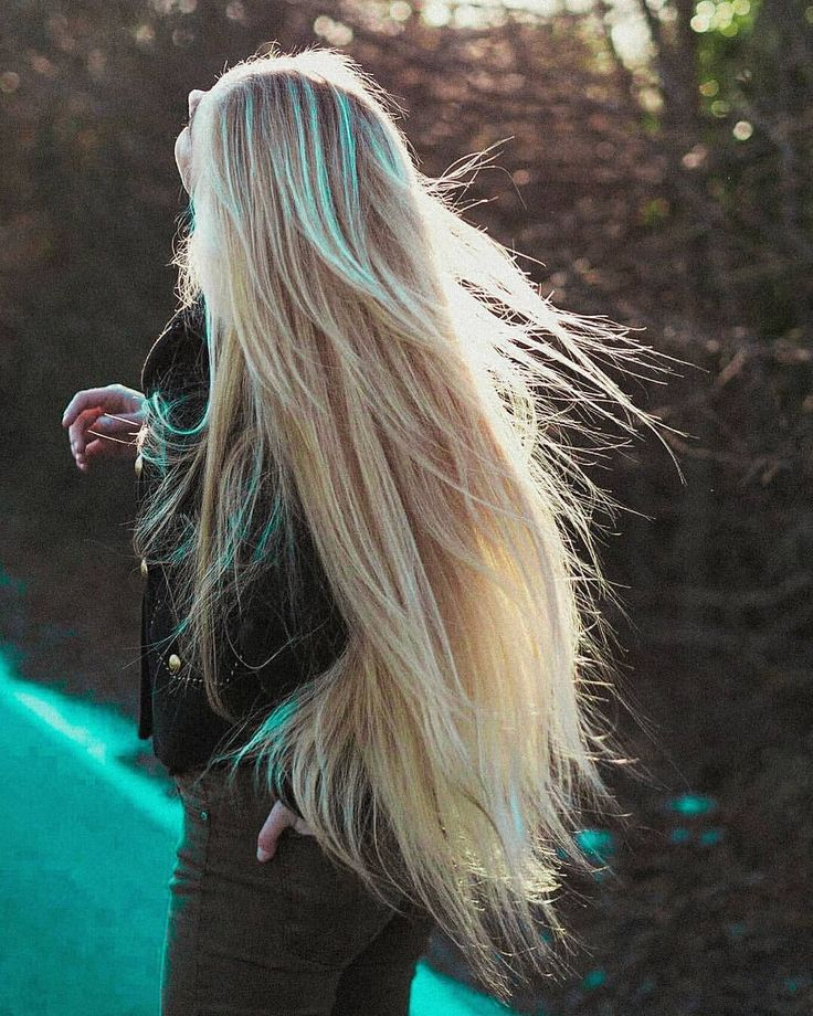 очень длинные светлые волосы картинки многими гранями