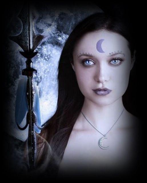 A La Luna...: Selene, diosa de la Luna