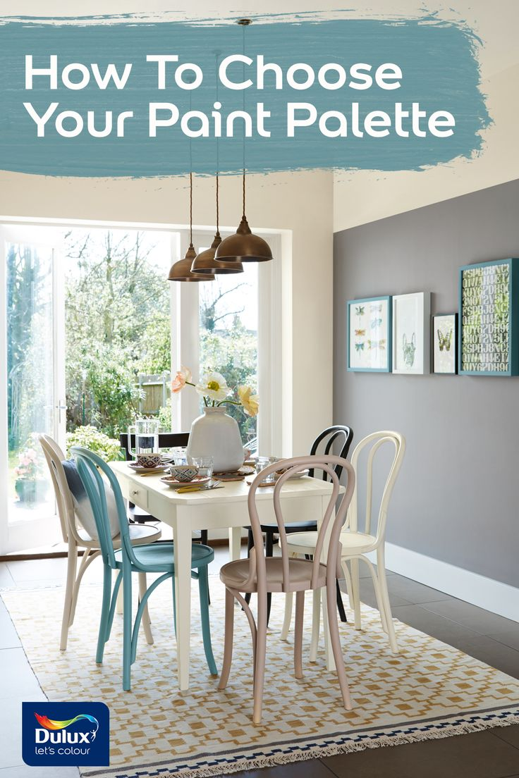 Six tips to help you pick a perfect paint palette.