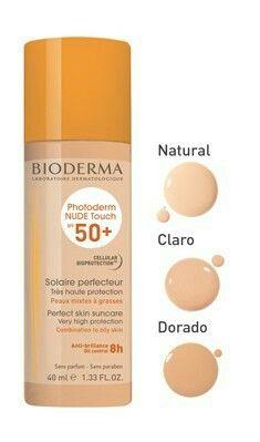 Bioderma Photoderm Nude Touch Tono CLARO $440