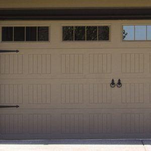 Garage Doors Leaded Glass Windows