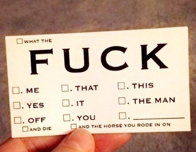 This really useful business card. | 25 Savage Things That Will Make You Laugh Despite Yourself