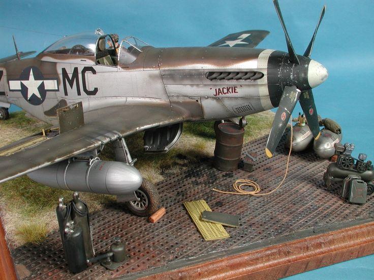 "North American P-51D Mustang ""Capt. Glenn Martin Webb"" Glengary Guy (Tamiya 1/32)"