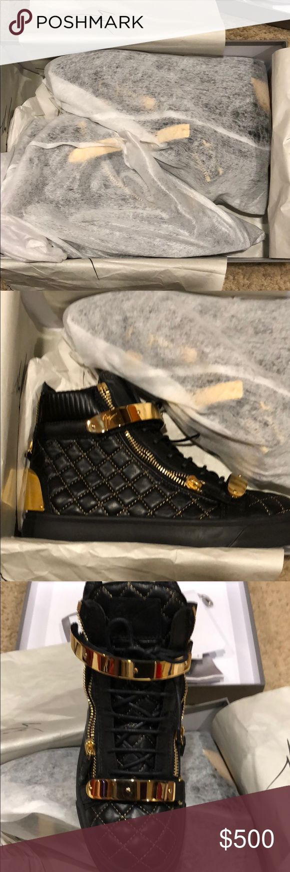Brand New 1000% authentic Giuseppe Sneakers 42(9) Brand New 1000% authentic Giuseppe Sneakers size 42(9) with all original accessories and tags. Giuseppe Zanotti Shoes Sneakers