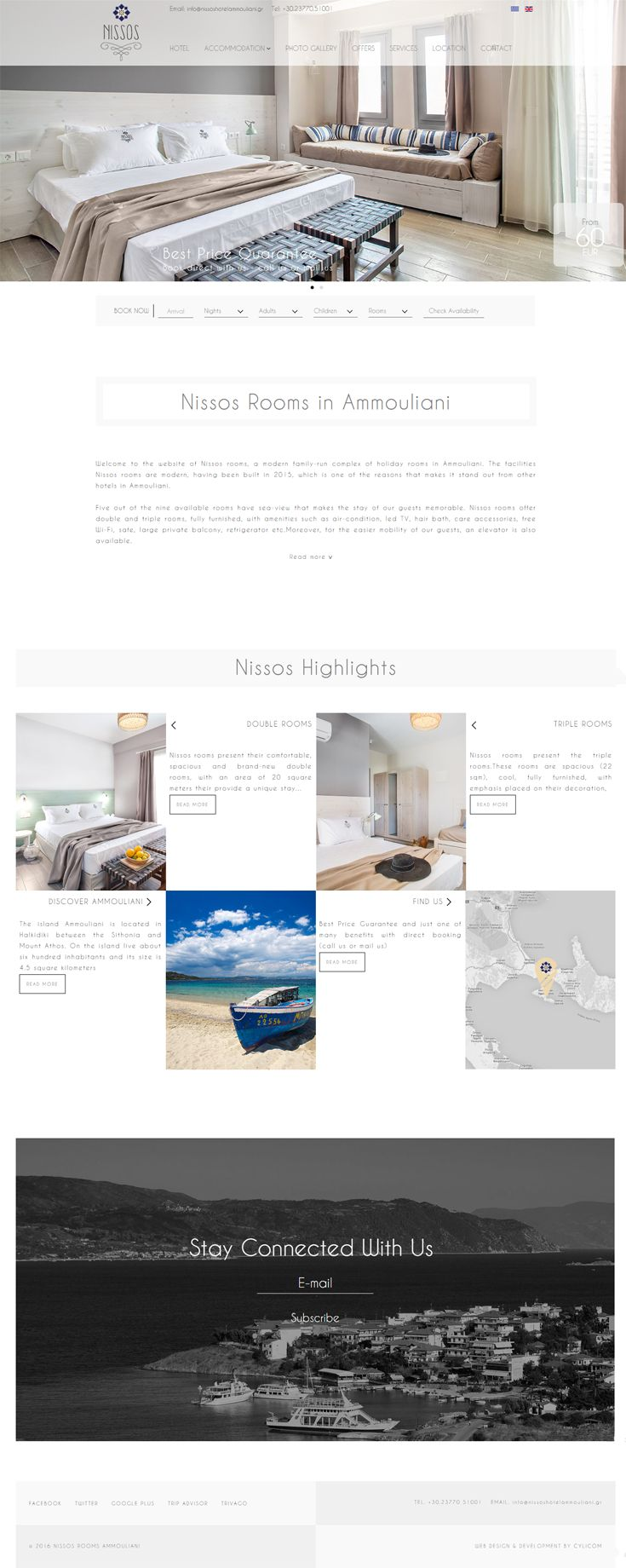 Nissos Hotel #website# by Cylicom