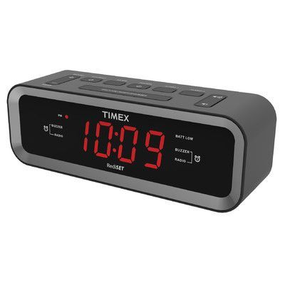 Timex AM/FM Radio Dual Alarm Clock
