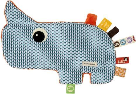 Silly U, Zoopreme, Knuffeldoekje, Nozo, Blauw Knuffeldoekjes textiel Kinderkamers online bij Lekmer.nl