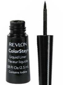 Revlon ColorStay eyeliner - The formula is kinda watery but it dries fast. I like how the applicator tip is firm like a pen tip, not flexible like a brush. It doesn't smudge for me with monolids, but it doesn't stay as long as gel liner. Very affordable price!
