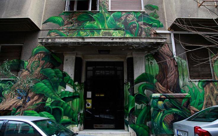 """Γκράφιτι: Η τέχνη του δρόμου """"βάφει"""" την Αθήνα   Φωτογραφία   Η ΚΑΘΗΜΕΡΙΝΗ"""