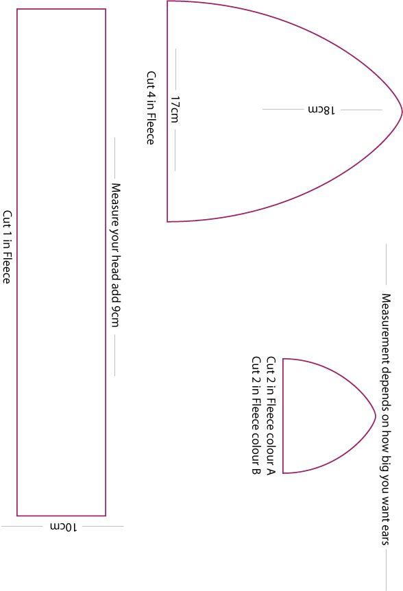 Fleece Hat Pattern by ~Mokulen22 on deviantART