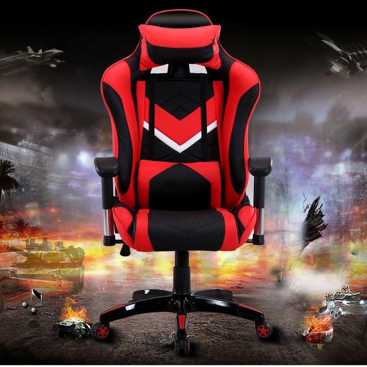 Moda silla de la computadora silla WCG gaming atletismo LOL silla con patas de aleación de aluminio
