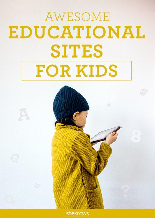Best educational websites for kids for after-school use (including @Pinterest!!)