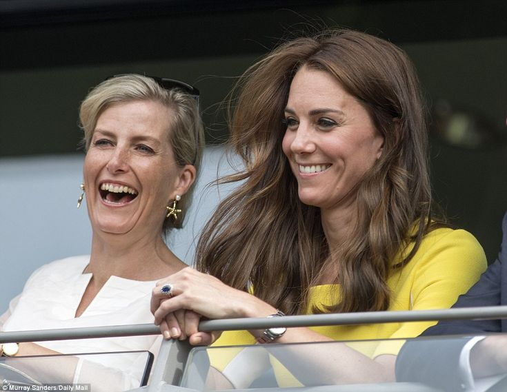 They're not often pictured together but Kate and Sophie showed a surprising closeness as t...
