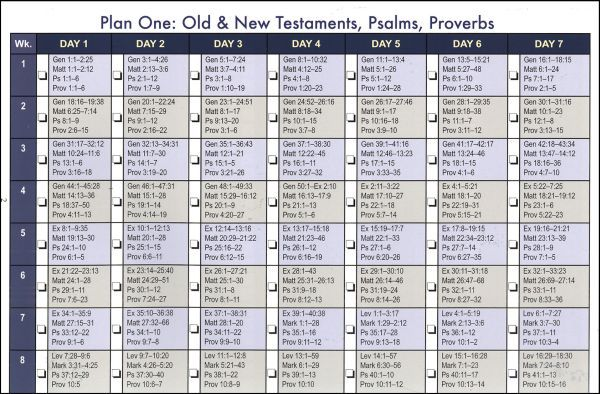 The Discipleship Journal Bible Reading Plan offers special ...