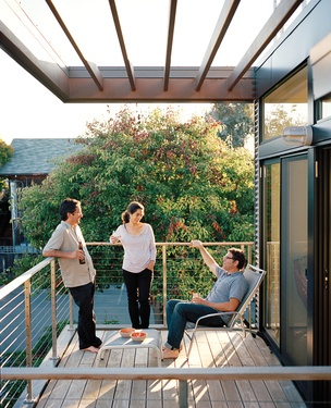 Slideshow: An Eichler-Inspired Modular Home in California | Dwell