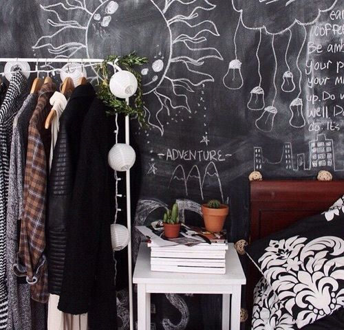 Chic Grunge Bedroom