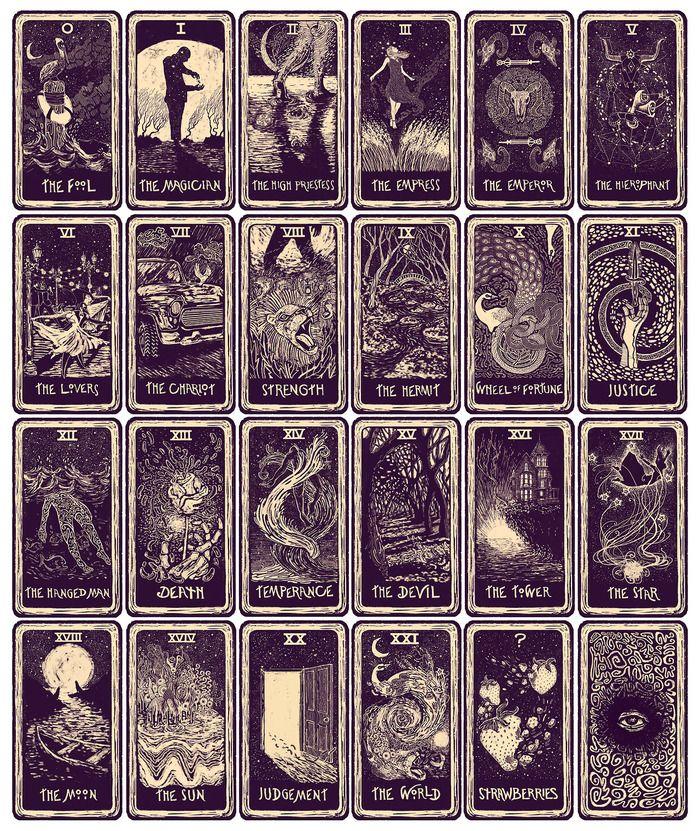 """The 22 Major Arcana Tarot Cards and the 23rd """"Mystery"""" Card"""