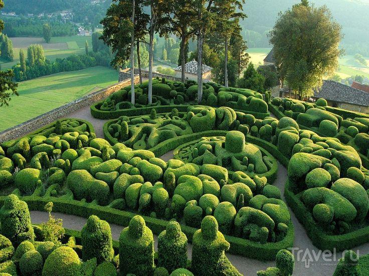 Добраться до садов Маркесак удобнее всего на автомобиле из Тулузы или Бордо, Франция / Франция
