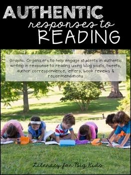 16 best reading workshop images on pinterest reading workshop authentic reading responses blog tweet write and review what you read fandeluxe Images