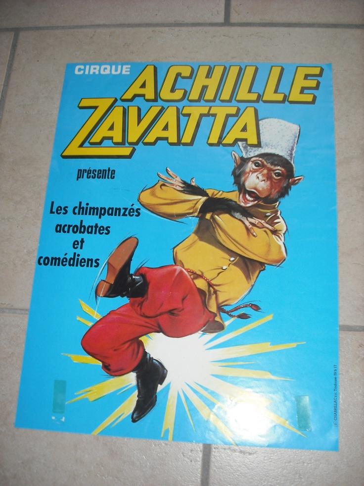 Ancienne Affiche Vintage Poster Cirque Circus Circo Zirkus Zavatta Achille   eBay