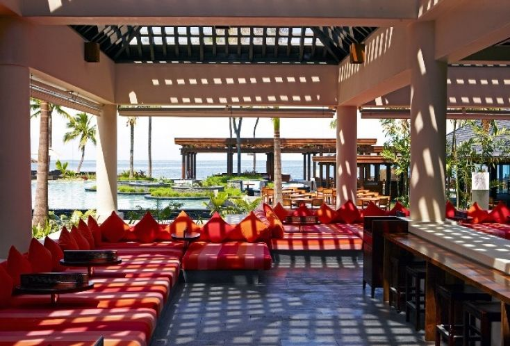 Day Beds at the Sheraton Fiji Resort