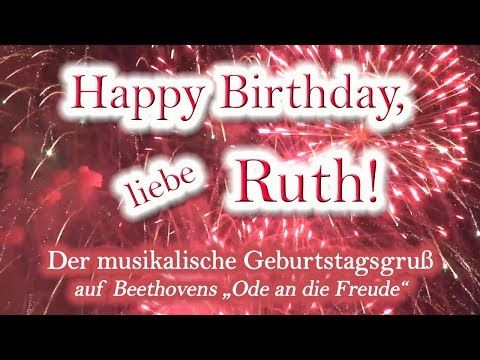 Happy Birthday Liebe Ruth Alles Gute Zum Geburtstag Youtube