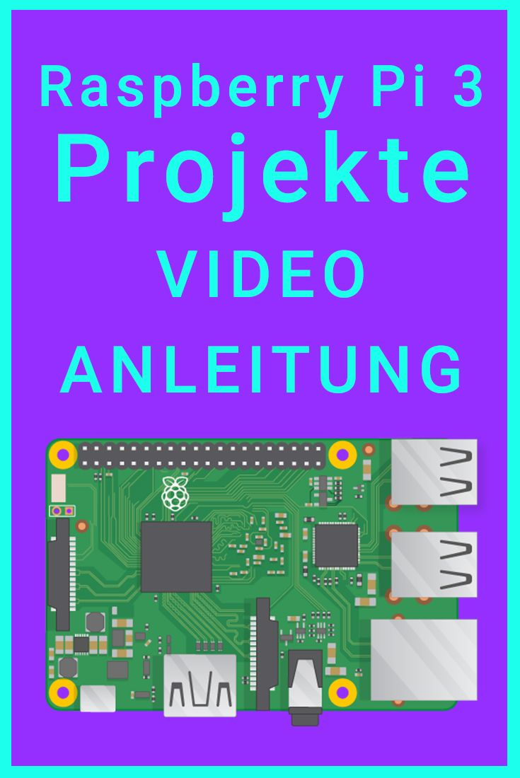 Raspberry Pi Projekte – Video Anleitungen | Raspberry Pi 3 Projects – Tutorial – Review – Tests – Raspberry Pi Kodi, Raspberry Pi Ambilight, Raspberry …